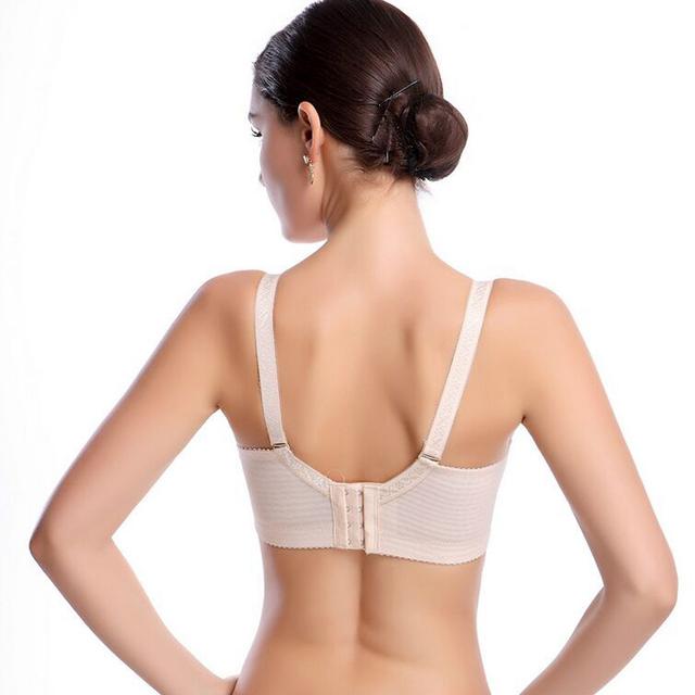 Female Underwear small breast Push Up Bra minimizer deep vs 5cm thick Padded brassiere lace bras for women pushup bra girls bra