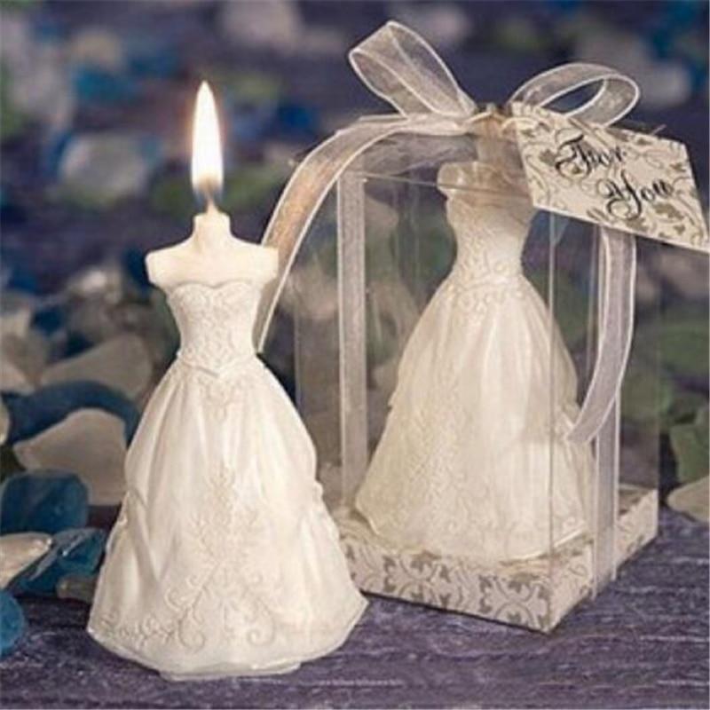 Abiti Da Sposa In Regalo.Us 3 49 30 Di Sconto Amore Romantico Sposa Bianco Abito Da Sposa A Forma Di Candele Di San Valentino Giorno Regalo A Sorpresa Di Lusso Di Compleanno