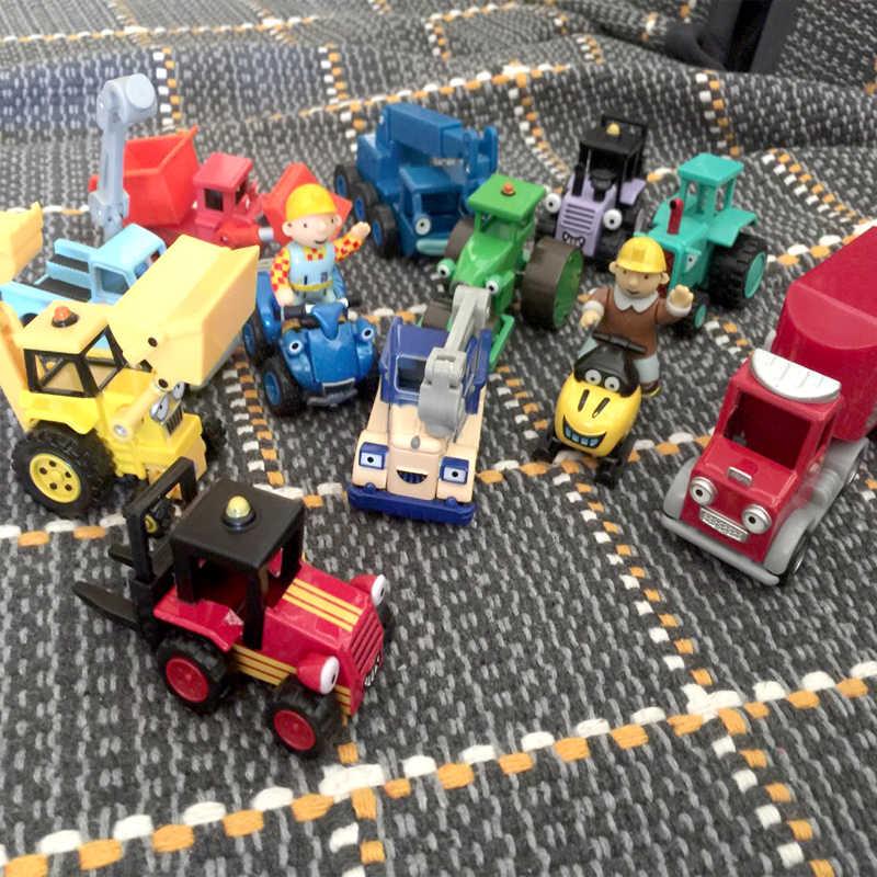 무료 배송 합금 장난감 자동차 모델 밥 빌더 엔지니어 엔지니어링 합금 자동차 뜨거운 판매 어린이 자동차 장난감 게임 선물