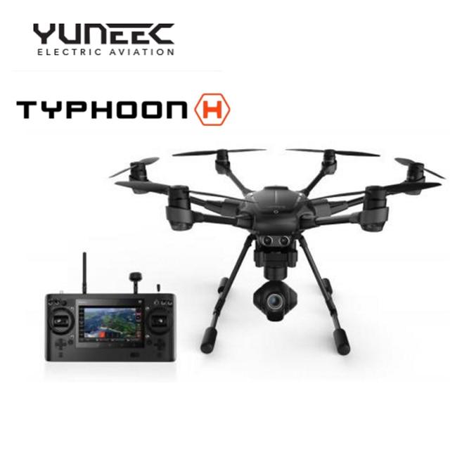 2016 Новый профессиональный RC Drone Yuneec Тайфун H RTF Вертолет с камера HD 4 К 3 Aixs 360 Вращения Карданного vs DJ Phantom 4 3
