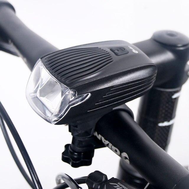 Meilan X1 велосипед передний свет для велосипеда Smart спереди лампа USB Перезаряжаемые руль светодиодный Фонари фонарик Пособия по немецкому языку Stvzo Cmeilan