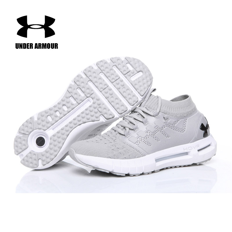 Under Armour Men HOVR Phantom Socks Shoes Running Walking Shoes Outdoor Athletic Breathable Fitness Light Sports Shoes hot sale hot new ultra light breathable children shoes boys and girls sports shoes running shoes outdoor walking shoes fly woven coconut