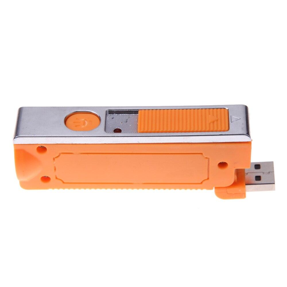 1 unids Nueva Novedad Electronic Tabaco Cigarrillo Encendedor de cigarrillos LED
