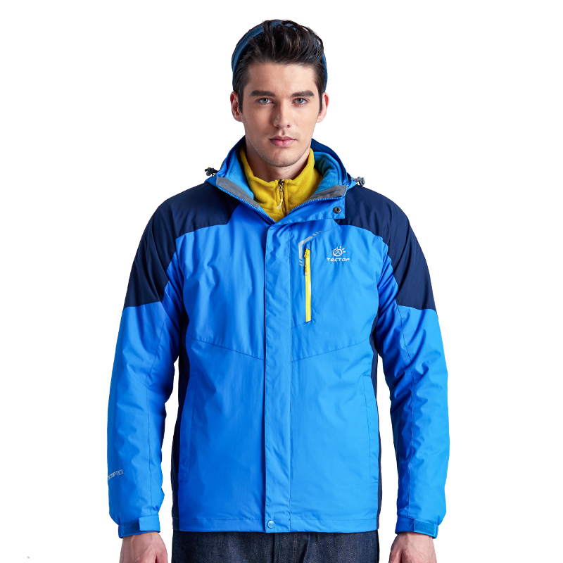 Winter Men Outdoor Camping Jacket Hiking Clothing Women 3 In 1 Climbing Clothing Jackets Outdoor Sports Ski Warm Waterproof Coat men and women winter ski snowboarding climbing hiking trekking windproof waterproof warm hooded jacket coat outwear s m l xl