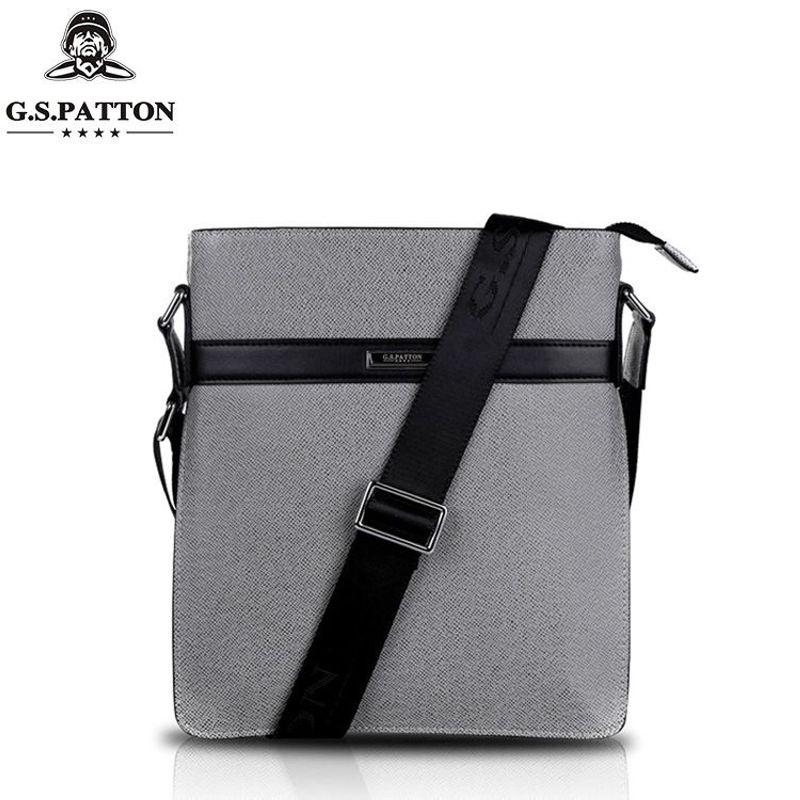 Barton leather new leather shoulder bag men's portable Messenger bag business briefcase vertical men's bag mary barton