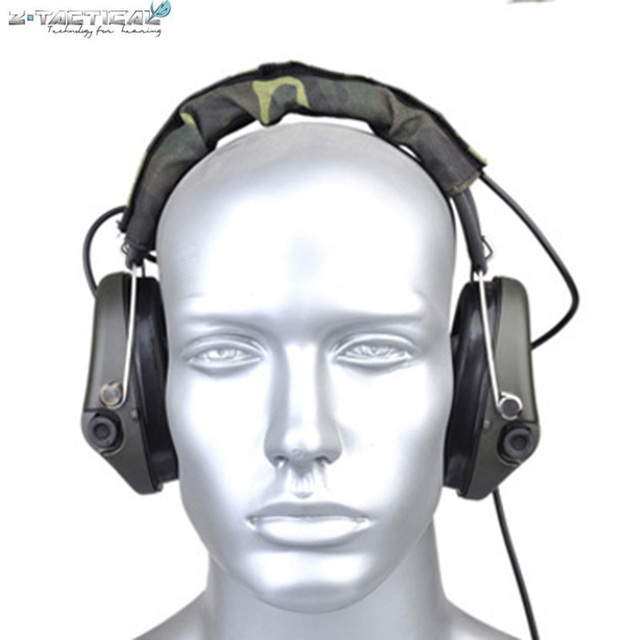 Z037 Z-tactical Sordin Tactical Headsets VER Leather Headband Style Get Rid  3.5 mm Headset f31b092ed9f