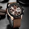 CURREN 8308 модные спортивные мужские часы с хронографом брендовые Роскошные военные кварцевые часы мужские часы Relogio Masculino Reloj Hombre