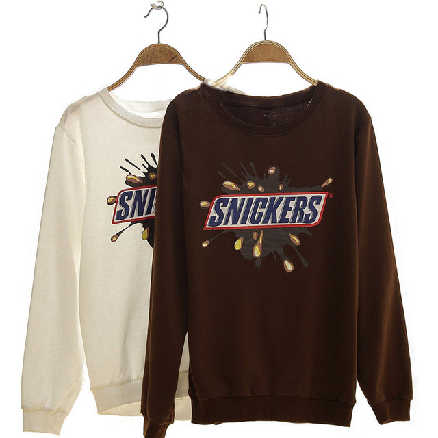 d444c96f015 US $9.99 |Snickers t shirt lovers short sleeve design brown t in Snickers  t-shirt lovers short-sleeve design brown t van T-shirts op AliExpress.com |  ...