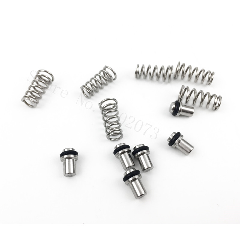 6pcslot Homebrew Draft Beer Parts Universal Poppet Valve Fits Ball & Pin Lock Style Cornelius Keg Posts (9)