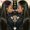 8A Full Lace Human Hair Wigs Malaysian Virgin Hair Straight Lace Front Human Hair Wigs For Black Women With Baby Hair Around
