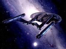 Enterprise Star Trek Starship Sci-Fi Art Gigantic Print Poster TXHOME D7598