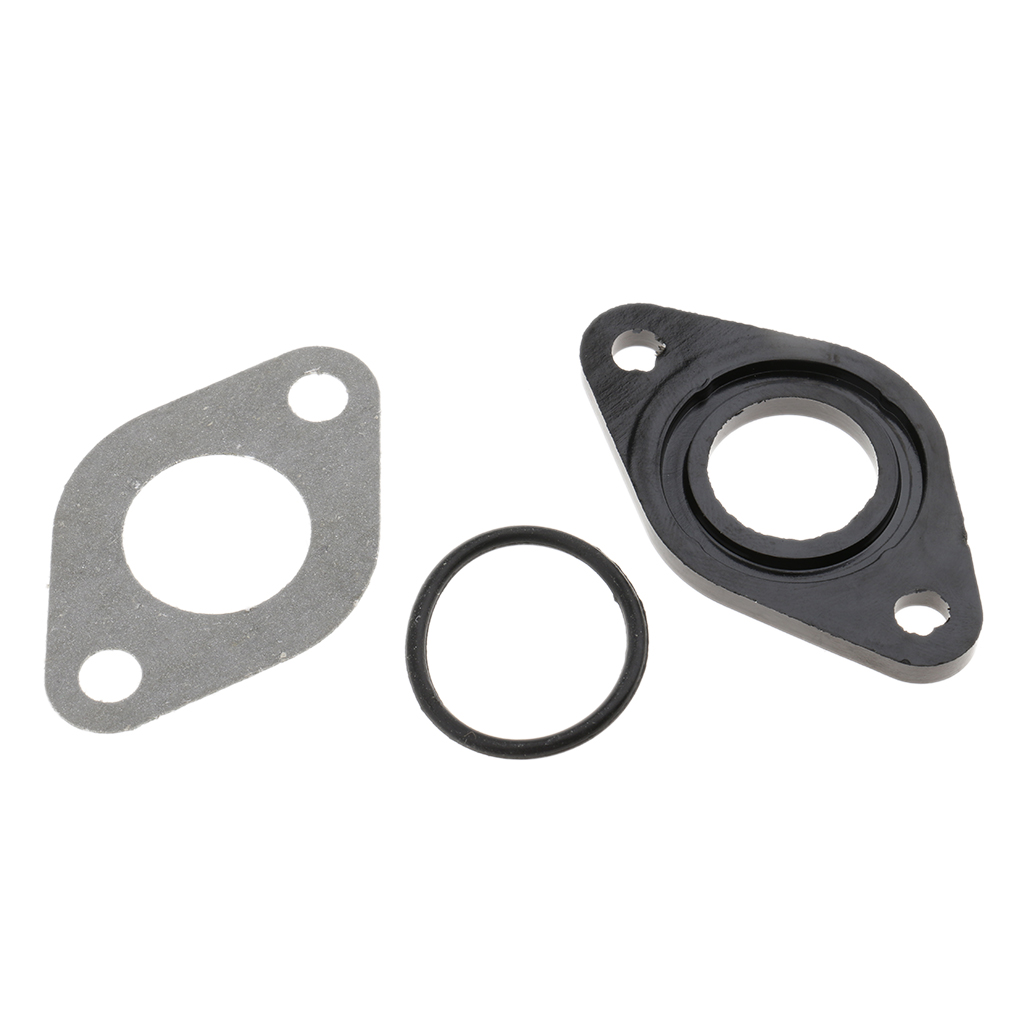 MANIFOLD INSULATOR GASKET GY6 50cc 60cc 139QMB Carburetor Scooter Moped