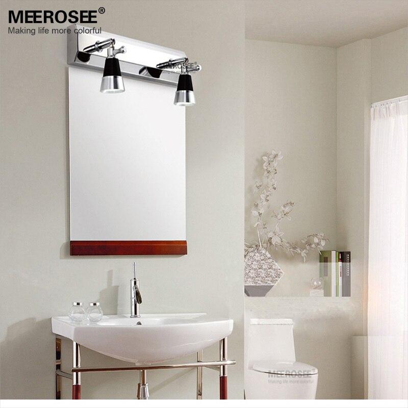 chrome bathroom wall sconce