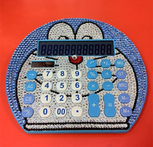 Free Shipping Cute Doraemon Office & School solar Calculator 12 Digits Students Calculators 1pcs/lot 18.5×16.5×3 cm