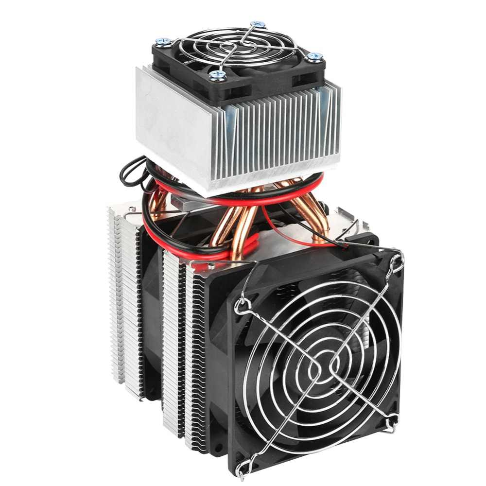 DC 12V 20A 180W 12715 Semiconductor Refrigeration Peltier Cooler Air  Cooling Radiator DIY Mini Fridge Cooling System