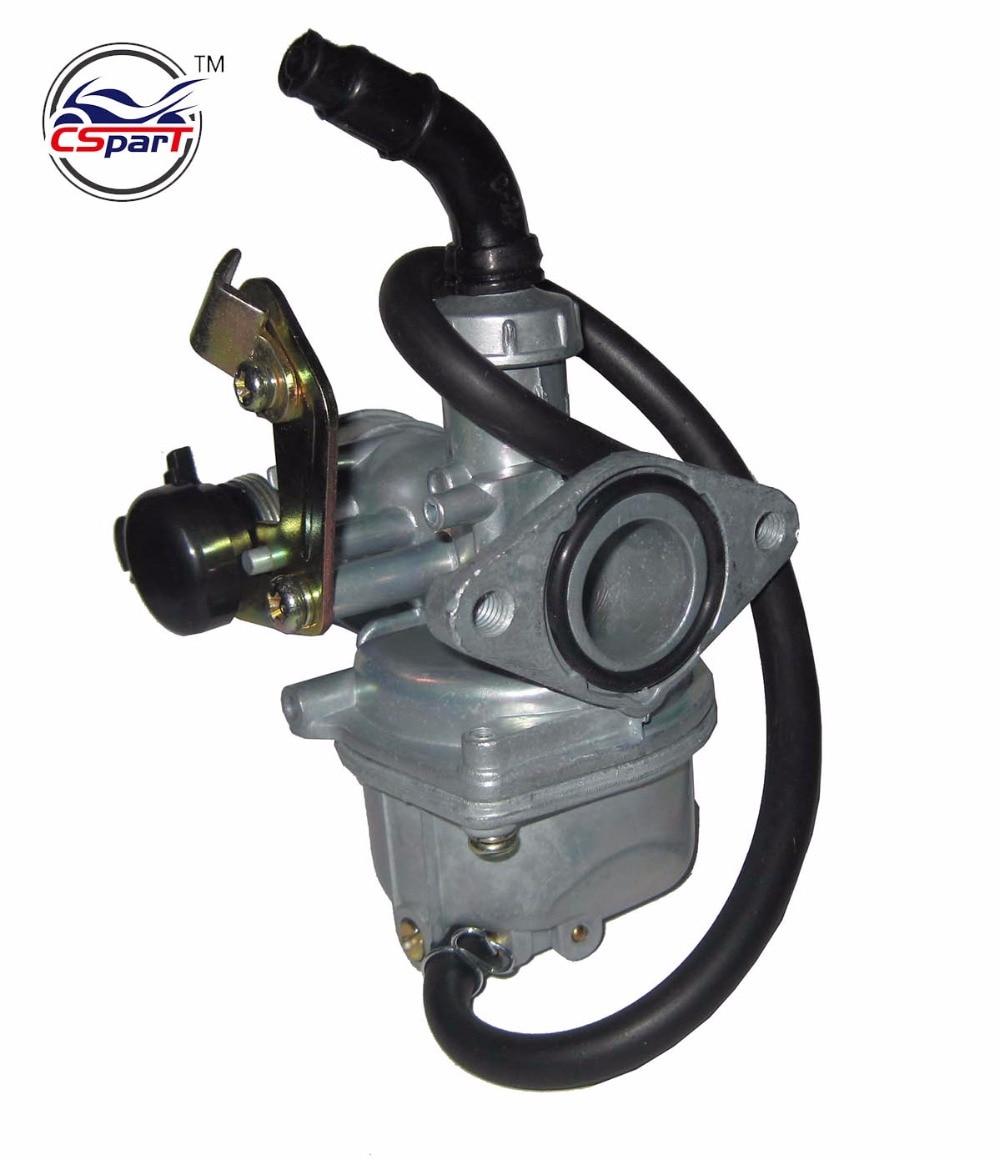 Carburetor PZ20 FOR 50 70 90 110 125cc ATV Quad Go kart Kazum