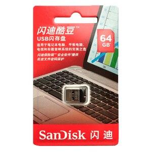 Image 4 - SanDisk Cruzer Fit CZ33 Super mini USB Flash Drive 64GB USB 2,0 sandisk stift stick 32GB memory stick stift Sticks 16GB U disk