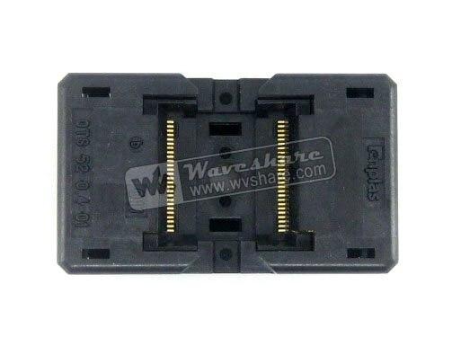 module TSOP52 TSOP OTS-52-0.4-01 Enplas IC Test Socket Adapter 8.9mm Width 0.4mm Pitch module tsop40 tsop ots 40 0 5 01 enplas ic test socket adapter 18 4mm width 0 5mm pitch