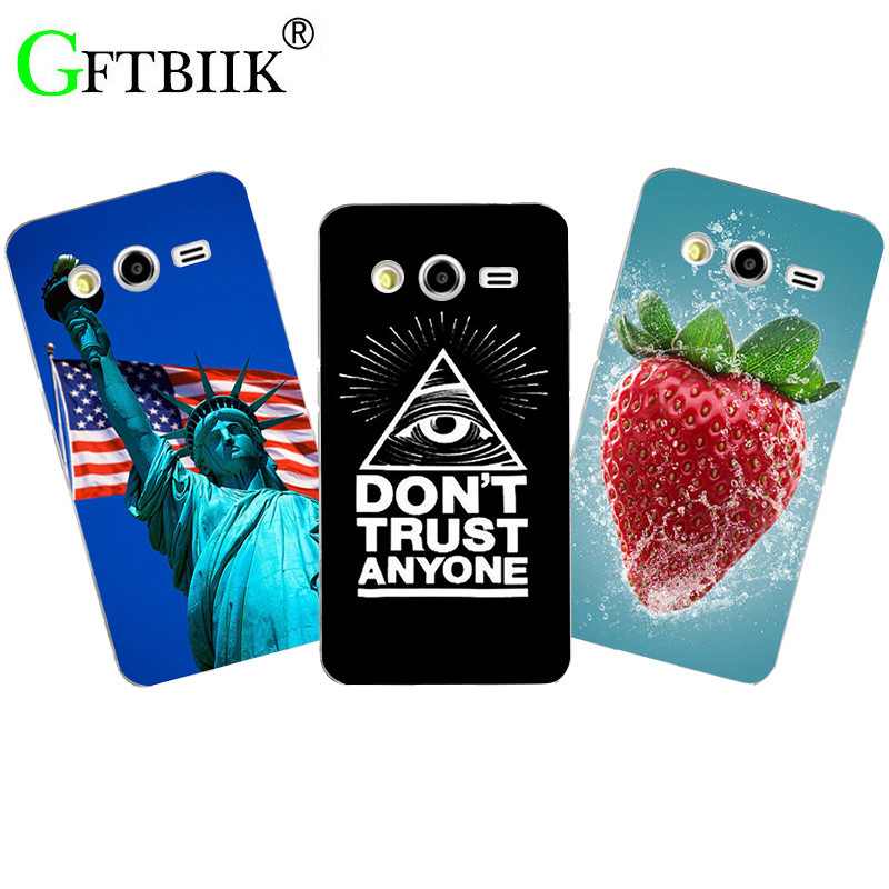 Fashion Cute Cartoon Phone Case For Samsung Galaxy Express 2 G3815 Win Pro G3812 G3818 Cover Animal Originality Printing Shell