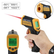 Digitale Infrarood Non-Contact IR Thermometer-50 ~ 550 graden Laser Pyrometer Temperatuur Point Gun(China)