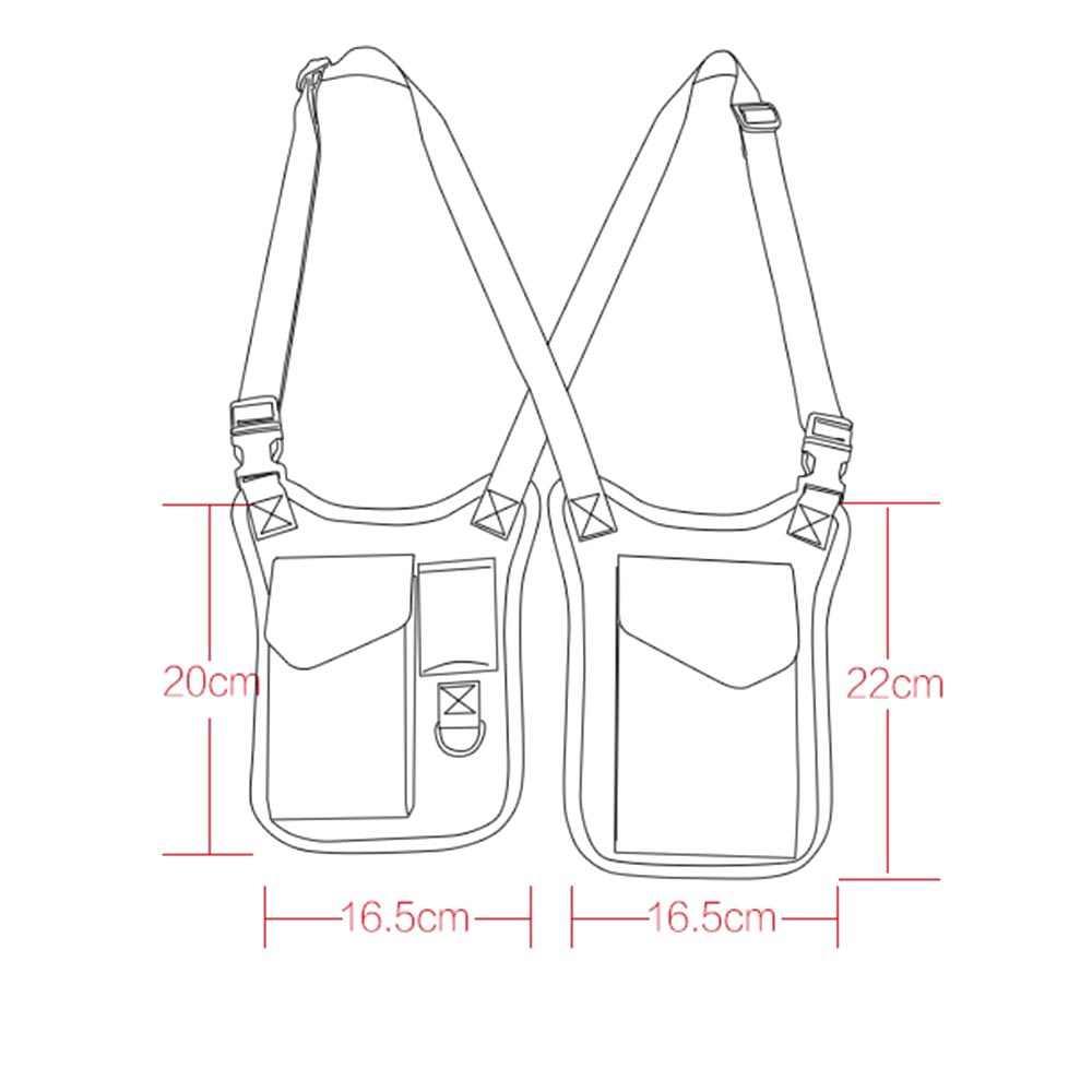 Противоугонный секретный агент сумка скрытое предплечье плечо сумка кошелек подмышка Чехол для мужчин секретный агент обслуживание стильная сумка
