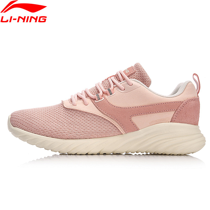 Li-Ning Women LN HUMBLE Classic Walking Shoes Breathable LiNing Sports Shoes Comfort Light Weight Sneakers AGCN068 YXB131 li ning women walking shoes light weight textile