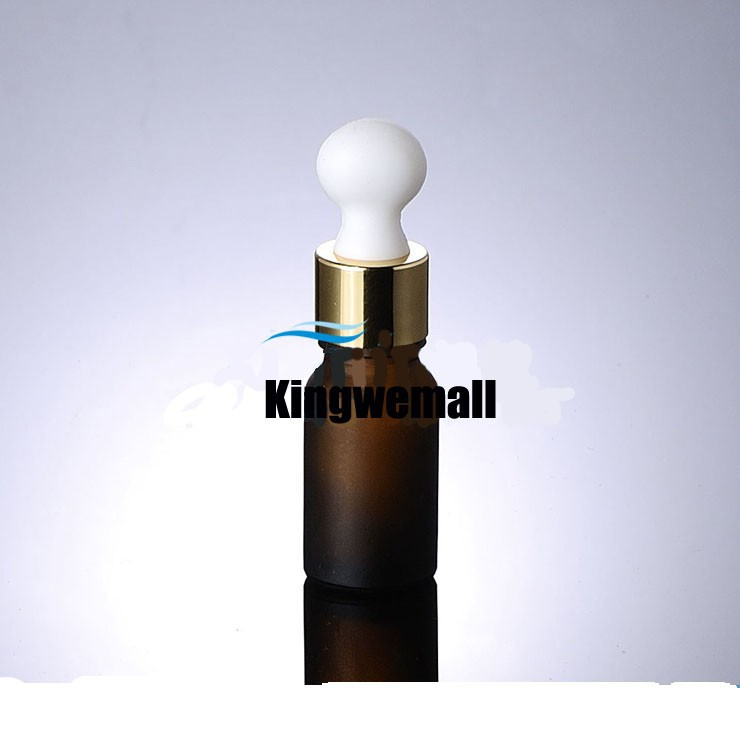 200/лот 10 мл пустая стеклянная бутылка эфирного масла, 10 мл стеклянный флакон с пипеткой с золотые крышки QCM04
