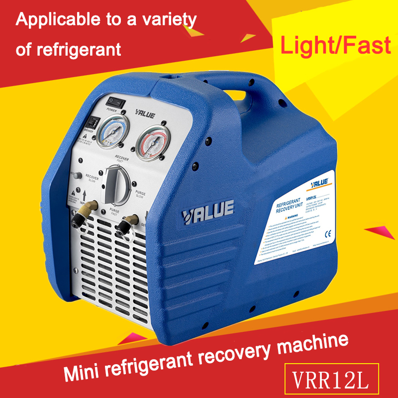 Portable Mini Refrigerant Recovery Machine For Recycling Mini Machine Portable Recovery Refrigerant United Machinery VRR12L