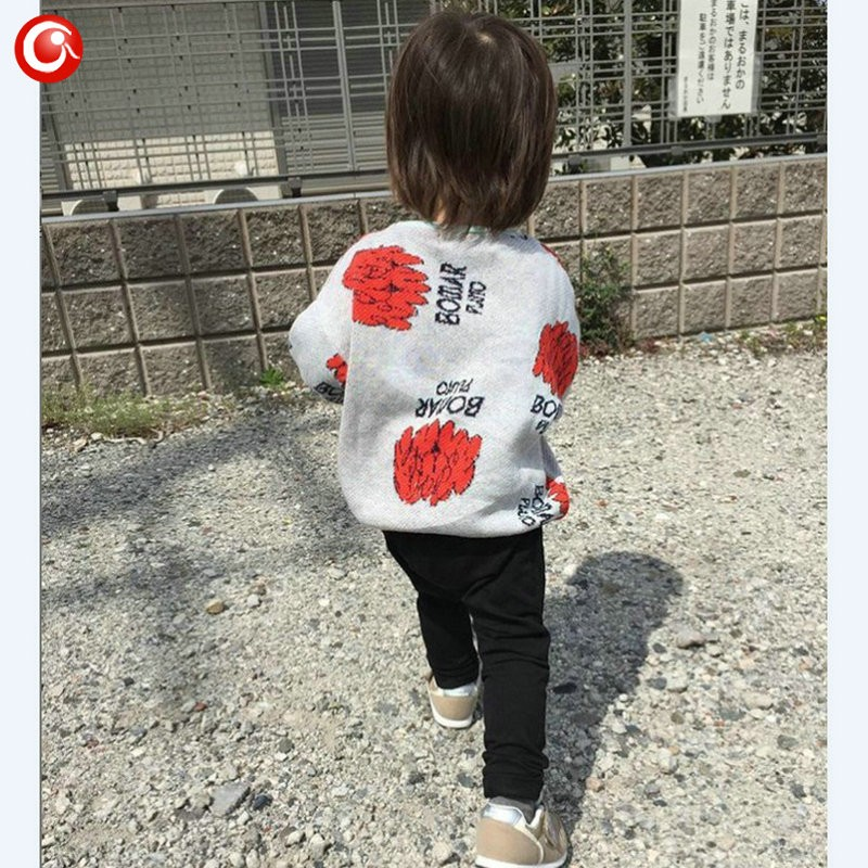 1-5y 2016 Autumn Children\'s Girls Sweater Fashion Toddler Bat Cardigan For Baby Boys Christmas Clothes Long Sleeve Outwear (7)