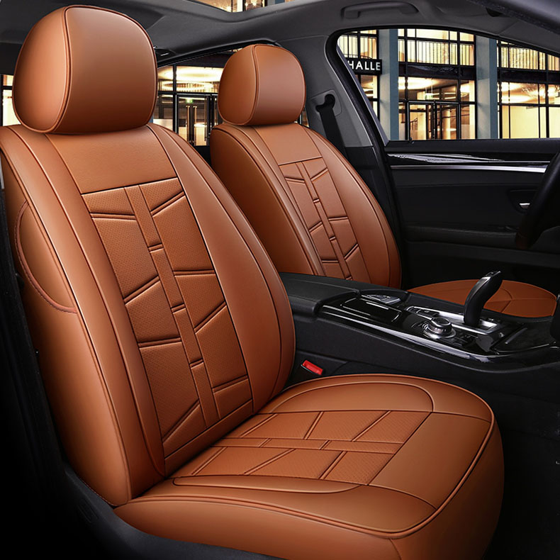 custom cowhide 7 seats car seat cover for Mercedes Benz GL GLS 350 350d 400 450 500 550 Viano Vito R class auto car accessories image