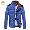 2016 Khaki Orange Blue Stand Collar Plus Size 3XL Casual Down Winter Parka Jaqueta Masculina Casaco Masculino