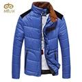 2016 Khaki Orange Blue Stand Collar Plus Size 3XL Casual Down Winter Parka Jaqueta Masculina Casaco Masculino