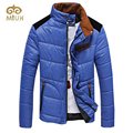 2016 cáqui orange azul gola plus size 3xl jaqueta masculina casaco masculino casuais para baixo parka inverno