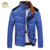 2016 de color caqui de orange blue collar del soporte más tamaño 3xl ocasional abajo invierno parka jaqueta casaco masculino