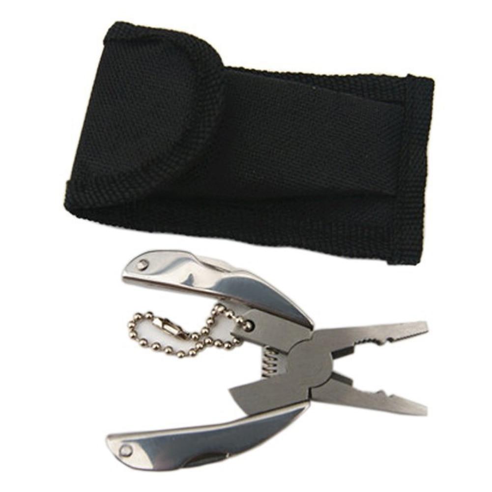 Alicates plegables multifunción Mini llavero de bolsillo plegable de - Herramientas manuales - foto 6