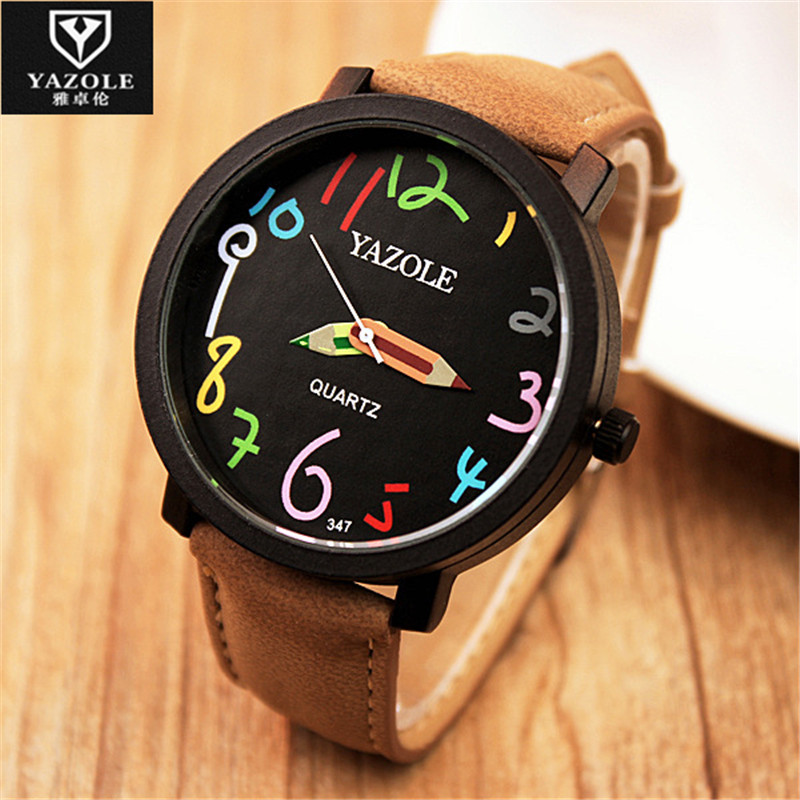 2016 YAZOLE Watches Men Watch Sports Top Brand Luxury Famous Wristwatch Male Clock Casual Watch Fashion Quartz-Watch E56 2017 watches men top brand luxury golden men s watch fashion quartz watch casual male sports wristwatch clock relojes doobo
