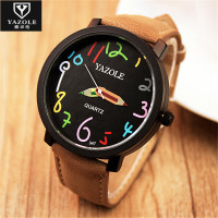 2016 YAZOLE Watches Men Watch Sports Top Brand Luxury Famous Wristwatch Male Clock Casual Watch Fashion
