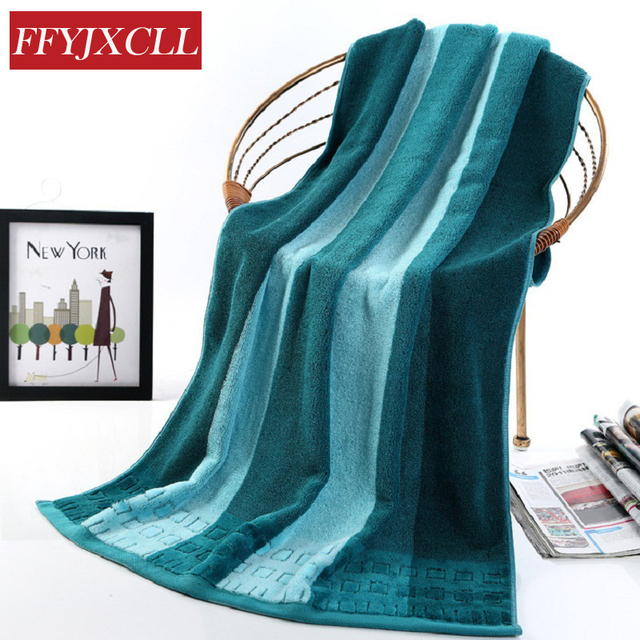 2018 Nouvelle serviette de bain marque 70x140 cm 100% Coton ...