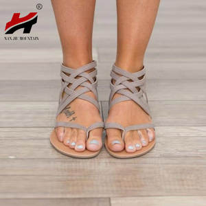 Plus Flats Summer Sandals Casual Shoes For Woman Sandalias