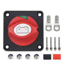 Truck Car Disconnect Isolator Master Switch 12v-48v Battery Power Cut Off Terminal Vehicle Boat Marine