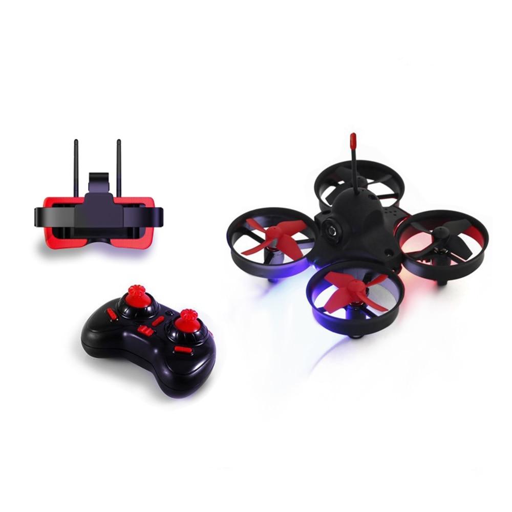 FB13S Micro FPV RC Racing Quadcopter Jouets Avec 5.8G 800TVL 40CH Caméra Avec 3 Pouces FB-009 FPV Lunettes VR Casque Hélicoptère Drone