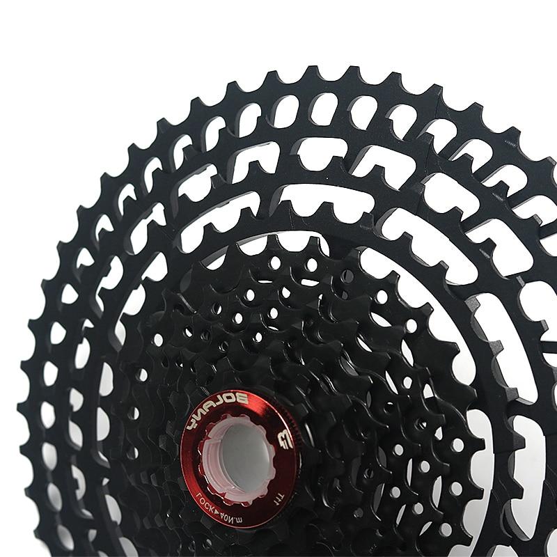 BOLANY-MTB-11-Speed-Black-Cassette-11-50T-375g-Ultralight-Bike-7075-Aluminum-Alloy-Freewheel-Mountain (4)