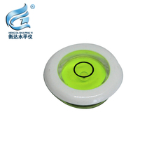 Electronic scale round horizontal bubble acrylic level