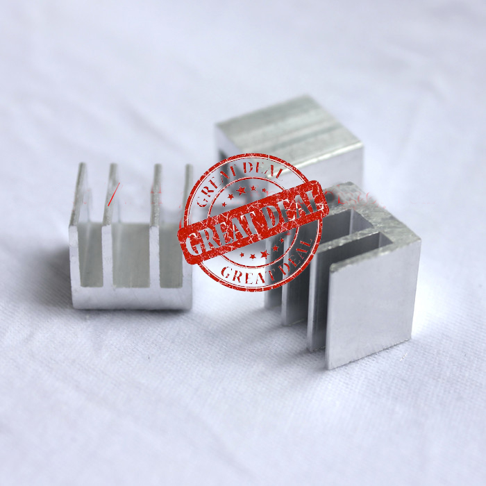 Free Shipping Wholesale 100PCS Aluminum IC Heatsink 13*13*11MM High Quality Thermal Block Radiator