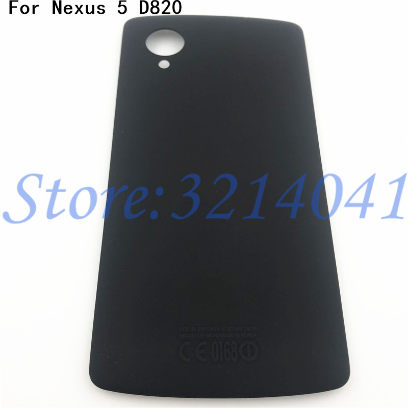 Original For LG Google Nexus 5 D820 D821 Back Battery Cover Rear Door Housing Case Replacement Parts With NFC