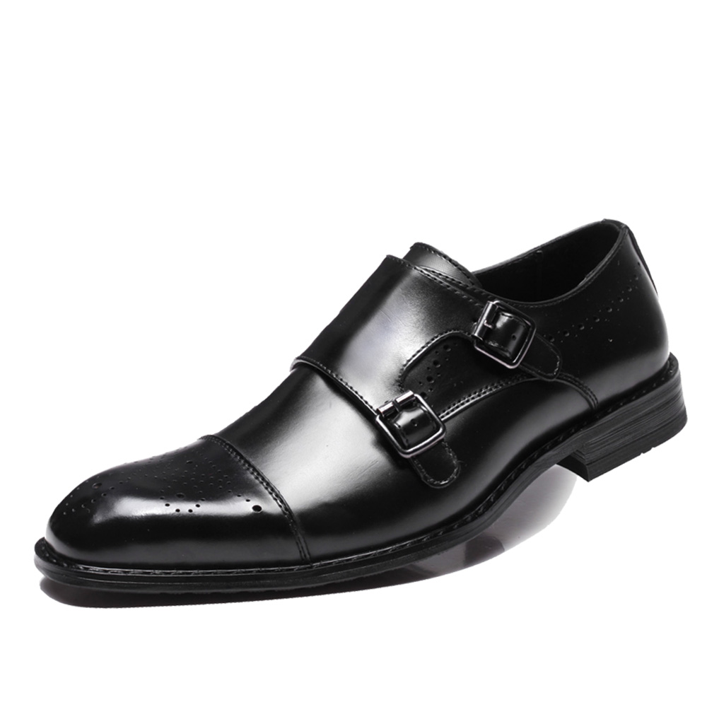 Npezkgc 남성 신발 럭셔리 브랜드 디자이너 정품 가죽 공식 웨딩 드레스 oxfords derby flats shoes zapatos hombre-에서포멀 슈즈부터 신발 의  그룹 2