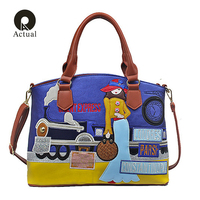 Actual Candy Color Handbags High Quality Fashion Italian Leather Bags Famous Brands Stylish Female Tote Bag