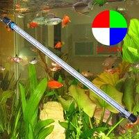 57 см 6,5 W 30 светодиодный аквариум аквариумный светодиодный фонарь 5050 SMD световая балка RGB IP68 Водонепроницаемый подводная лампа EU/US/UK Plug