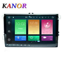 KANOR 4G 32G 2 Din Android 8 0 Car Radio For Vw Passat B5 B6 Jetta