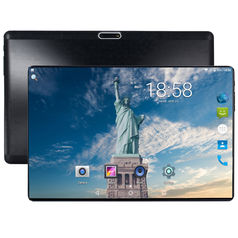 2019 New DHL Free 10 Inch Tablet PC 4G LTE Octa Core 4GB RAM 64GB ROM Dual SIM Cards Android 8.0 GPS 4G Tablet PC 10 10.1 +Gifts